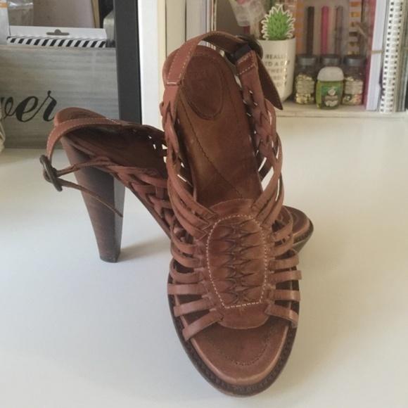 fdd0650e88e3 Frye Shoes - ⭐ Frye  Joy Huaraches  Slingback Sandals ...